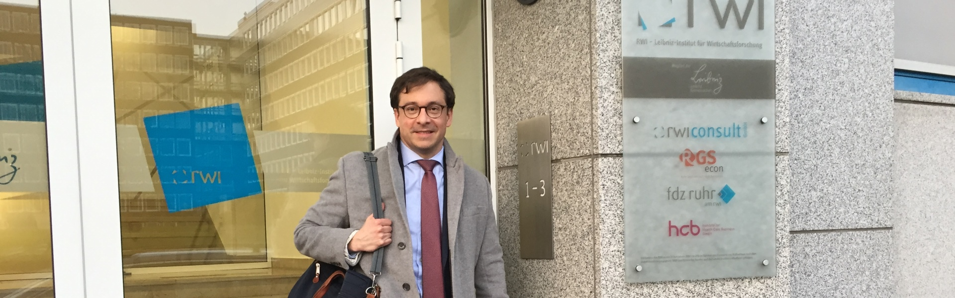 Professor Participates in Review of Germany's RWI Institute for Economic Research